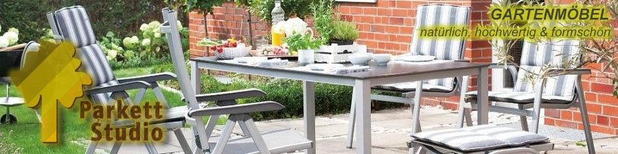 Polyrattan Gartenmobel Tisch Und Stuhle : Gartenmöbel aus Aluminiumtextilenen  FBB Fußbodenbau Fürstenwalde